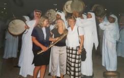 Fun in Abu Dhabi.