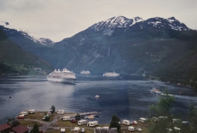 Nicole entered three to four ports per week and visited the most beutiful places in the world. She loved Scandinavia.