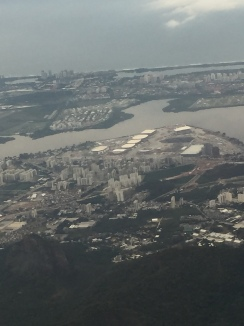 Rio 2016: The Olympic Stadium and the Olympic Village.